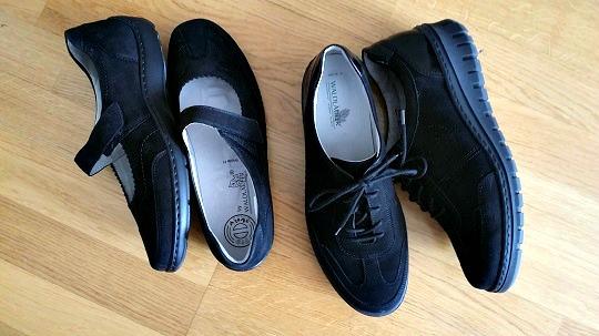 Snygga skor för ömma fötter