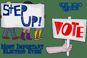 election, vote, protest