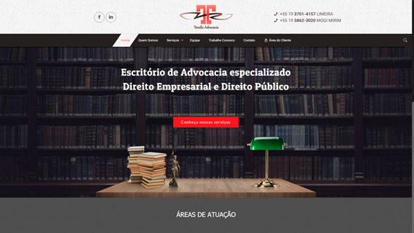 tonello.adv.br um site desenvolvido por SENI web design & publicidade