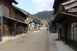 岩村の城下町