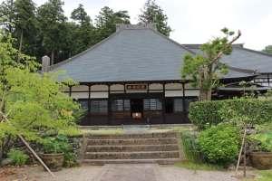 安中・補陀寺の本堂