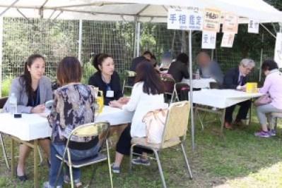 20180429 兵庫盲導犬協会手相鑑定会全体⑴