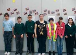 Peer mentors at Greenacre school.