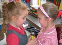 Digital sound files can help children express and record their thoughts.