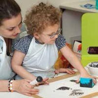 Workshops can provide the inspiration for art-based sessions in school.