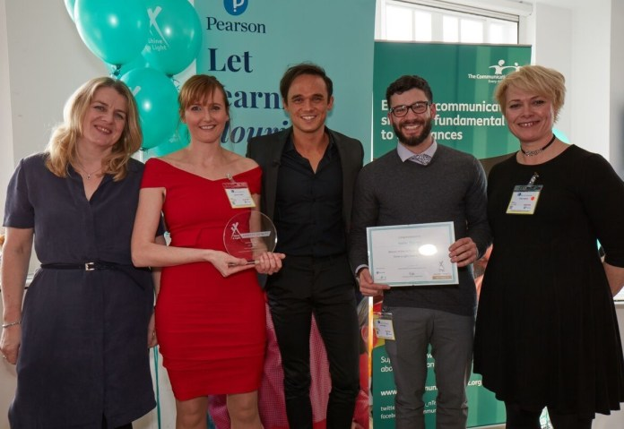 Wendy Lee (judge), Martha Currie (Mable Therapy), Gareth Gates (Awards host), Elliot Agro (Mable Therapy) and Anna Reeves (judge).