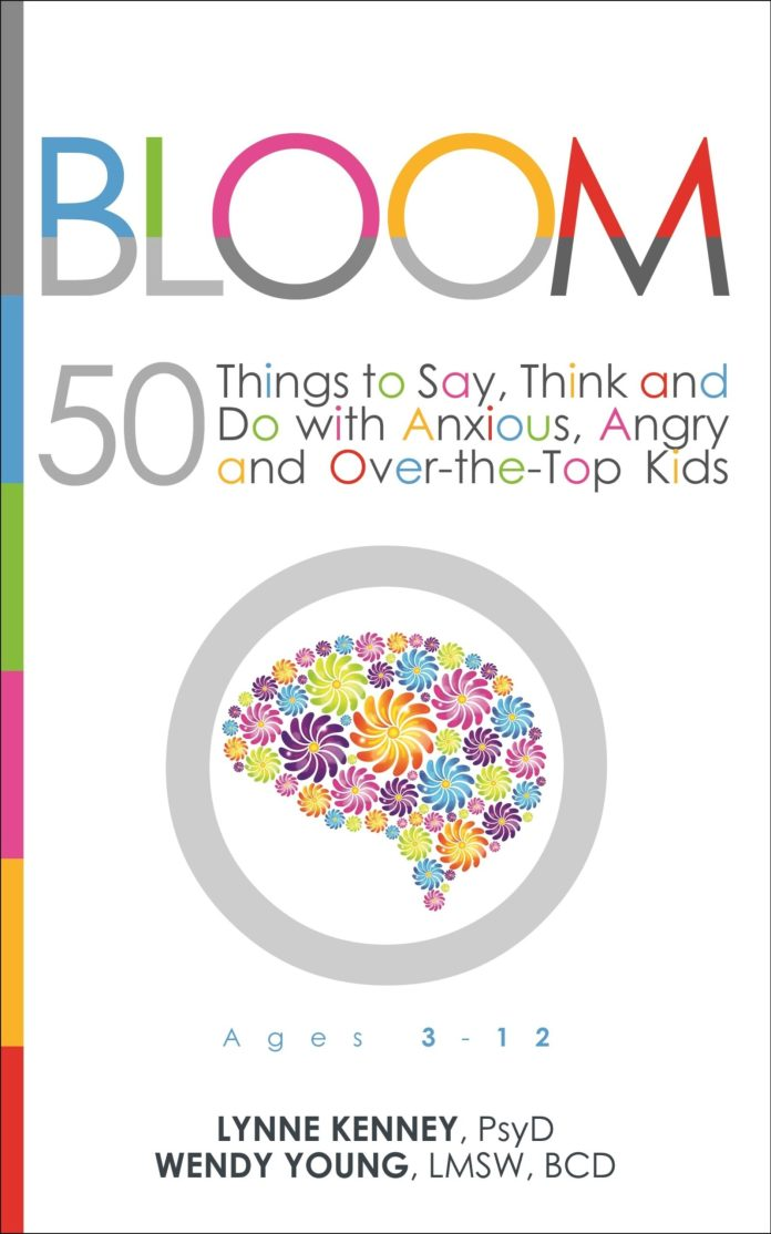 the cover of 'bloom', featuring a brain made of flowers