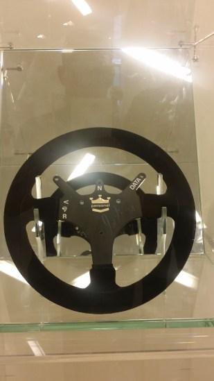 Signed Senna Steering Wheel