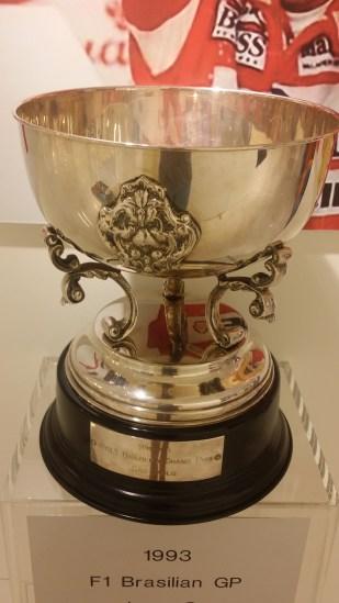 Brazil GP 1993 Winners Trophy