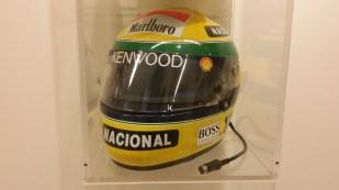 Senna McLaren helmet