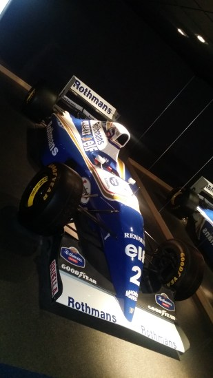 The 1993/94 FW15D-11 Development Winter Chassis