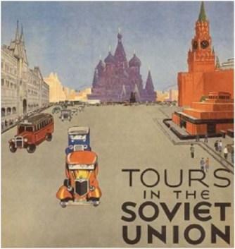 Car tours in Soviet Union