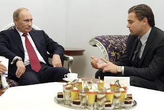 Vladimir Putin, Leonardo DiCaprio
