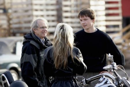 "Ken Loach und seine Hauptdarsteller in ""It's a free World"""