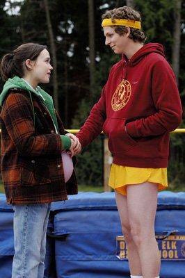 """Ellen Page & Michael Cerra in """"Juno"""" von Jason Reitman"""