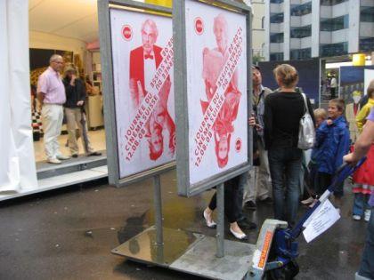 Swissfilms bringt die Plakate ins Trockene (c) sennhauser