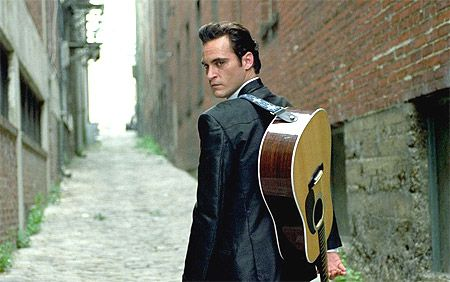 "Joaquin Phoenix in ""Walk the Line"" (2005)"