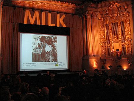 Milk im Castro Cinema Foto sennhauser