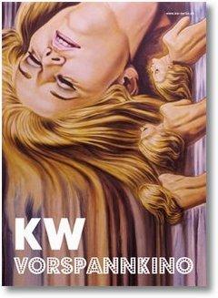 Plakat Vorspannkino im KW Berlin