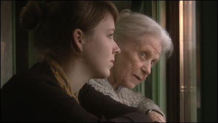 Swetlana Geier und Enkelin