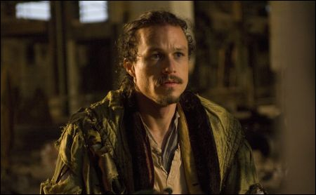 Heath Ledger as Tony in Dr Parnassus