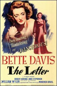 Poster The Letter Bette Davis