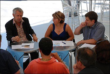 Conférence de presse, Locarno, (c) Adrienne Bovet