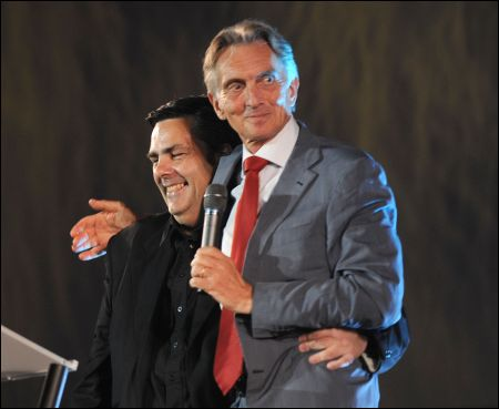 Marco Solari verabschiedet Frédéric Maire (c) Fotofestival tipress Samuel Golay