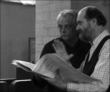 Manfred Eicher und Arvo Pärt in Sounds and Silence