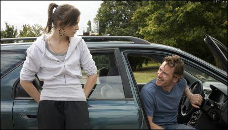 Katie Jarvis und Michael Fassbender in 'Fish Tank' von Andrea Arnold © Pathefilms