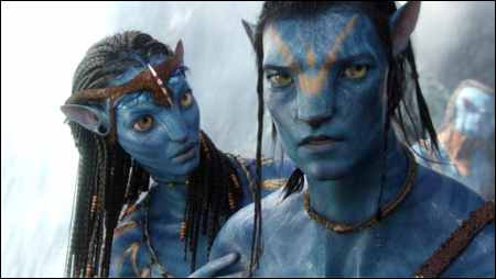 Neytiri und Jake Sully in 'Avatar' © 20th Century Fox