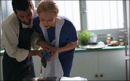 Edoardo Gabbriellini, Tilda Swinton in 'Io sono l'amore' von Luca Guadagnino
