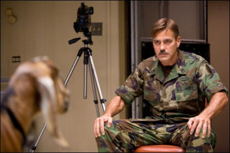 George Clooney in 'The Men Who Stare At Goats' ©Ascot-Elite
