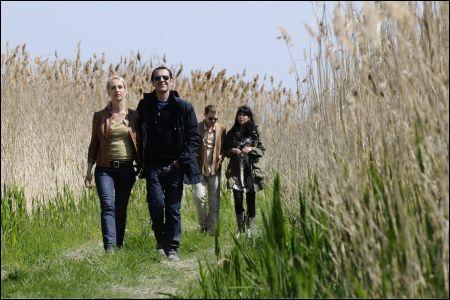 Ursina Lardi, Dorka Gryllus, Andreas Lust, Merab Ninidze in 'Der Kameramörder'