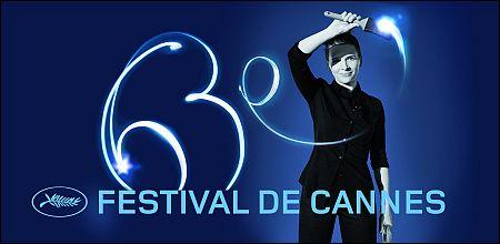 Juliette Binoche auf dem offiziellen Plakat Filmfestival Cannes 2010