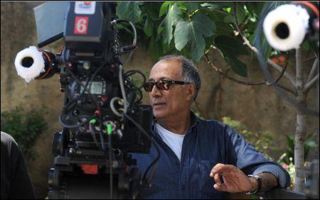 Abbas Kiarostami beim toskanischen Dreh unterm Feigenbaum