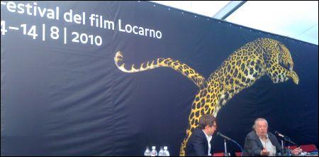 Der Ehrenleopard holt sich Alain Tanner ©Gutersohn