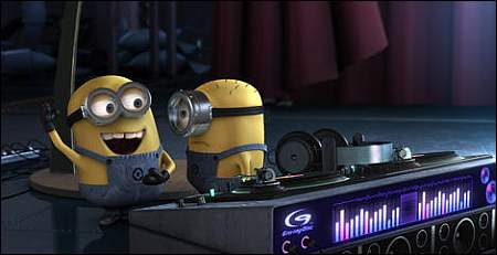 Minions in 'Despicable Me' ©UPI