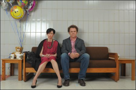 Tilda Swinton und John C. Reilly in 'We need to talk about Kevin '