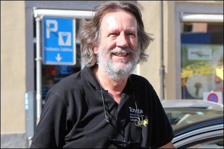 Fili Filipelli, Chauffeur in Locarno seit über 30 Jahren ©Gebhard