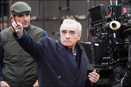Ganz 'Hugo': Martin Scorsese bei der Arbeit ©ascot-elite