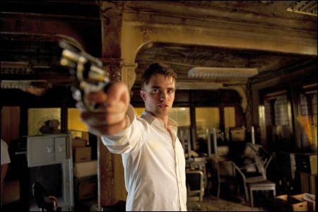 Robert Pattinson Gun