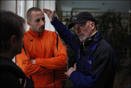 Jacques Audiard (rechts) mit Matthias Schoenaerts