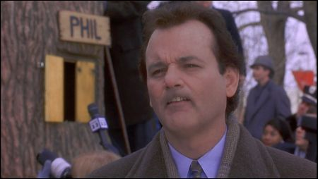 Bill Murray in 'Groundhog Day' von 1993
