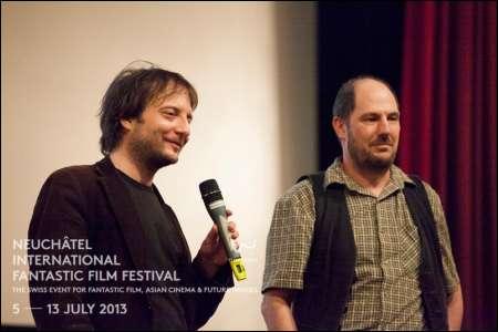 Matthieu Seiler ('Der Ausflug') und Georges Wyrsch © NIFFF (Joëlle Neuenschwander)