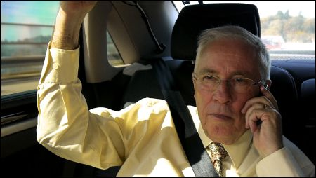Blocher im Auto © frenetic