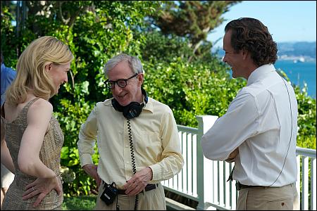 'Blue Jasmine': Cate Blanchett, Woody Allen, Peter Sarsgaard © frenetic