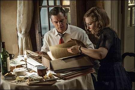 Matt Damon, Cate Blanchett © 2013 Twentieth Century Fox