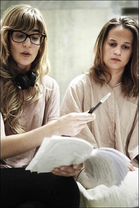 Regisseurin Lisa Langseth und Alicia Vikander © filmcoopi