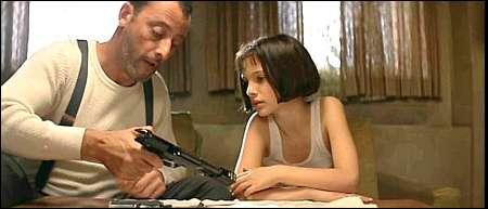 Jean Reno und Nathalie Portman in 'Léon' von 1994